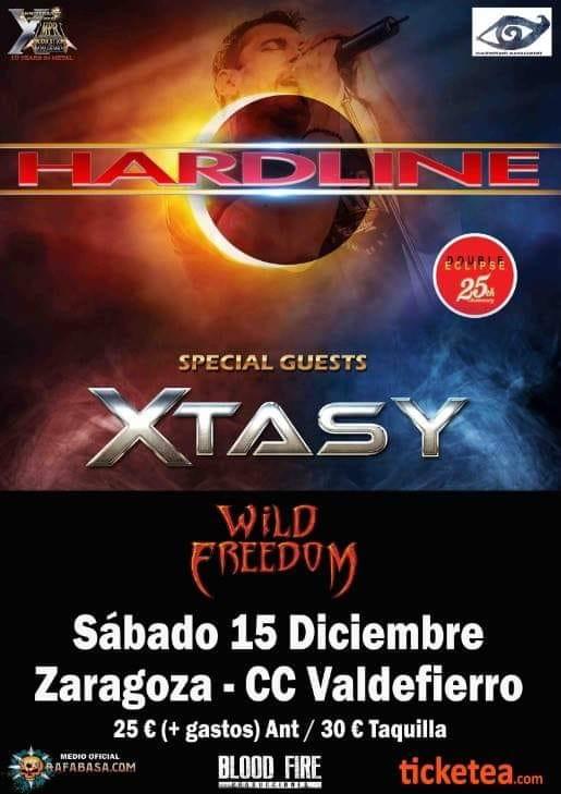 HARDLINE encabeza festival en Zaragoza - Horarios -