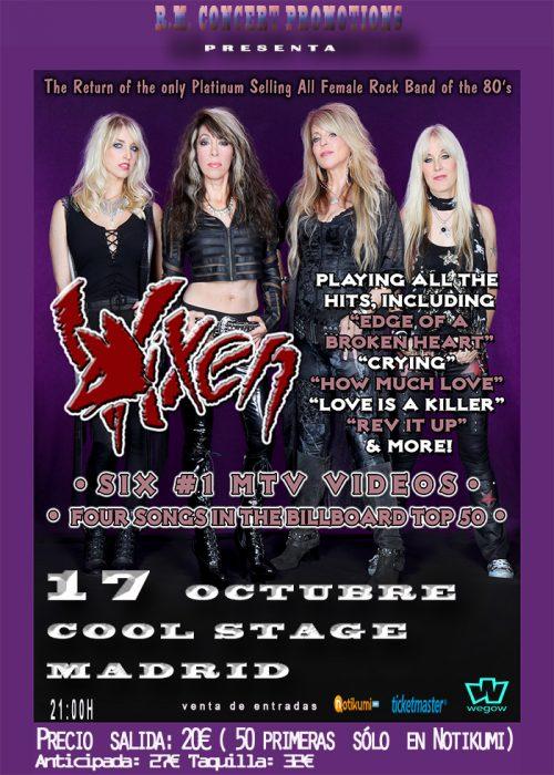 VIXEN en concierto!