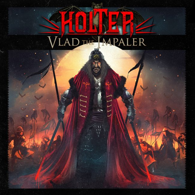 HOLTER - Vlad The Impaler (2018) review