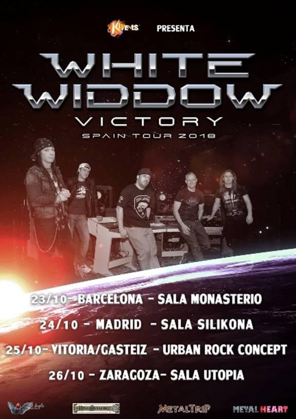 WHITE WIDDOW - Horarios