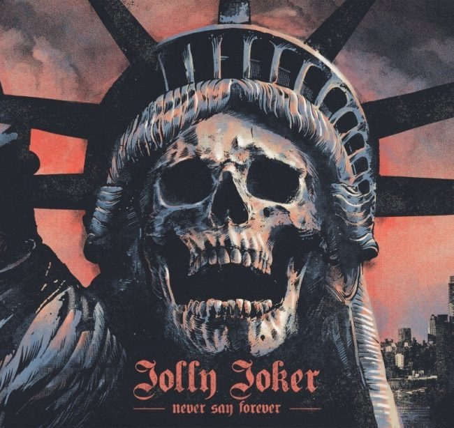 "JOLLY JOKER desvela portada de ""Never say forever"""