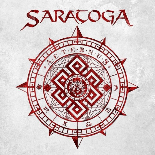 "SARATOGA - Nuevo disco ""Aeternus"""