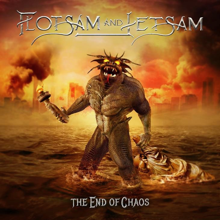 "FLOTSAM AND JETSAM - Adelantos de ""The end of chaos"""