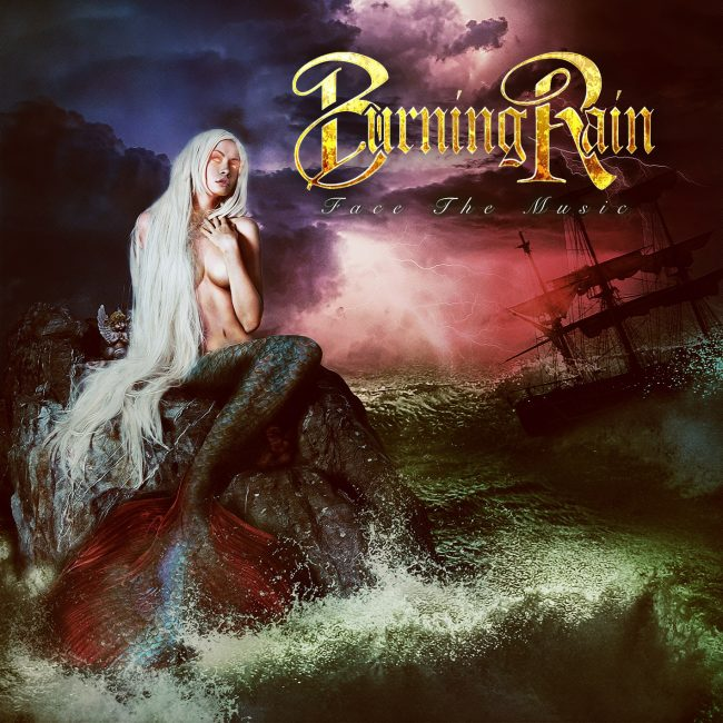 BURNING RAIN - Face the music (2019) review
