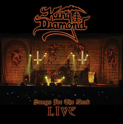 "KING DIAMOND - Disco en directo ""Songs For The Dead Live"""