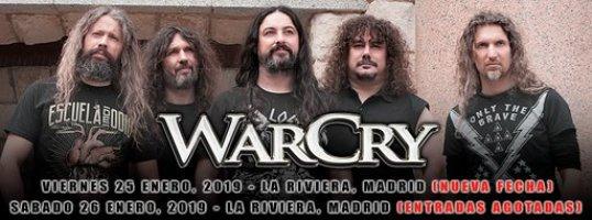 WARCRY en concierto!
