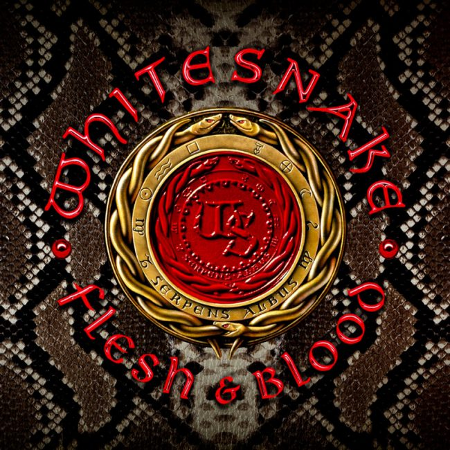 WHITESNAKE - Flesh & blood (2019) review