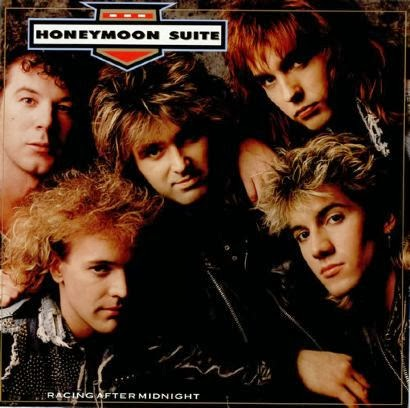 HONEYMOON SUITE - Racing after midnight (1988) review