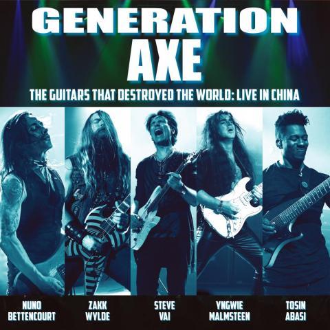 """STEVE VAI y su nuevo supergrupo """"Generation Axe"""""""