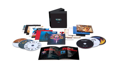 "TOTO lanza 13 CDs BOX SET ""All In"""
