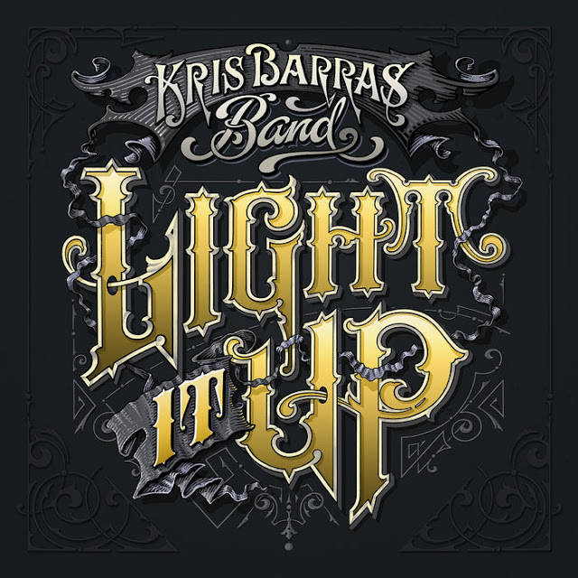 KRIS BARRAS BAND – Light it up (2019) review