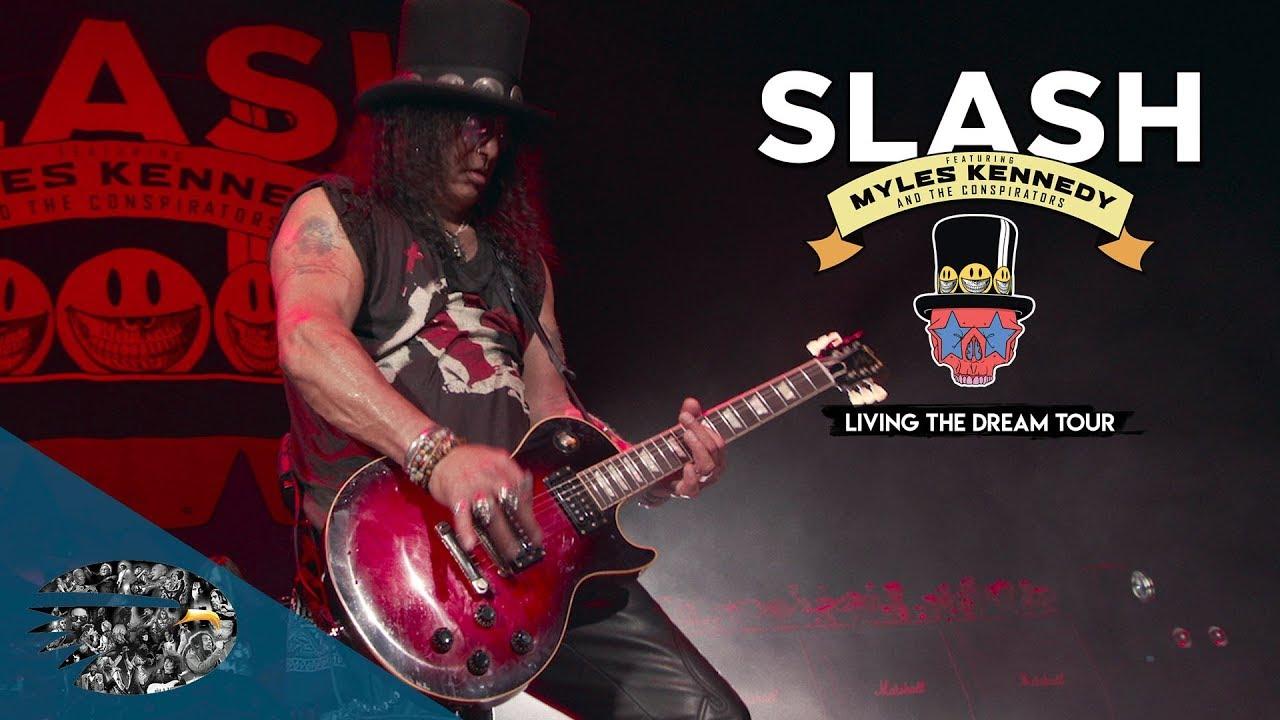 SLASH edita nuevo directo «Living The Dream Tour»