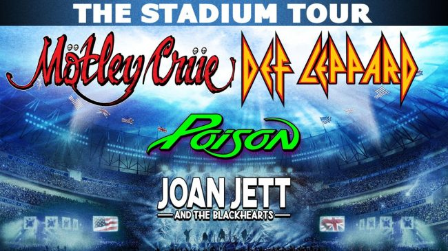 MÖTLEY CRÜE aplaza el STADIUM TOUR
