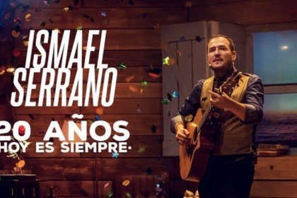 Ismael Serrano regresa a México