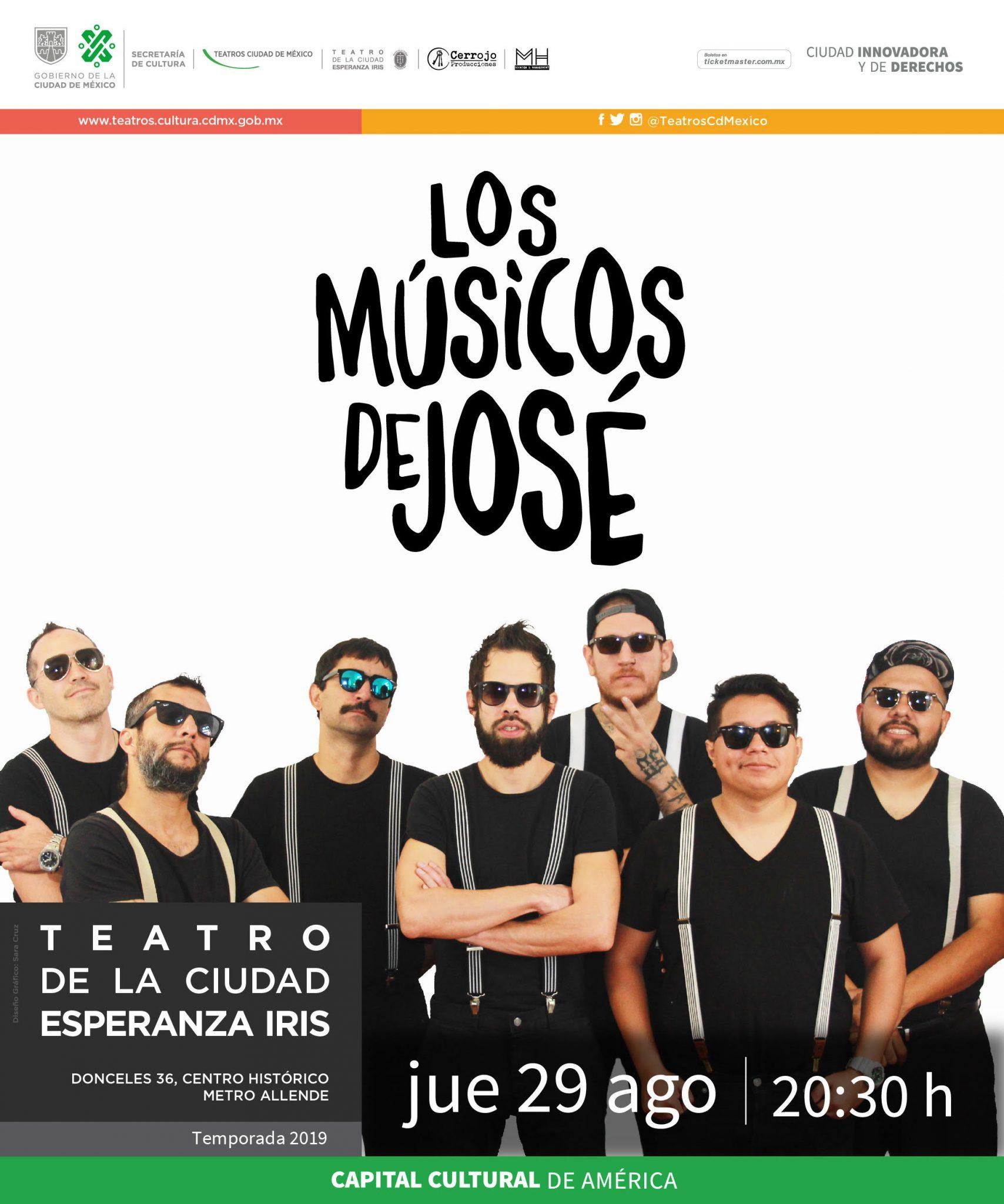 Los Músicos de José listos para Groove en la Ciudad