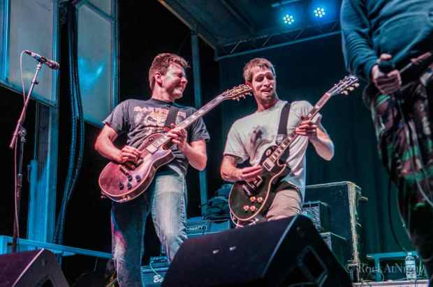 Trevor Reilly and Mike Supina of A Wilhelm Scream