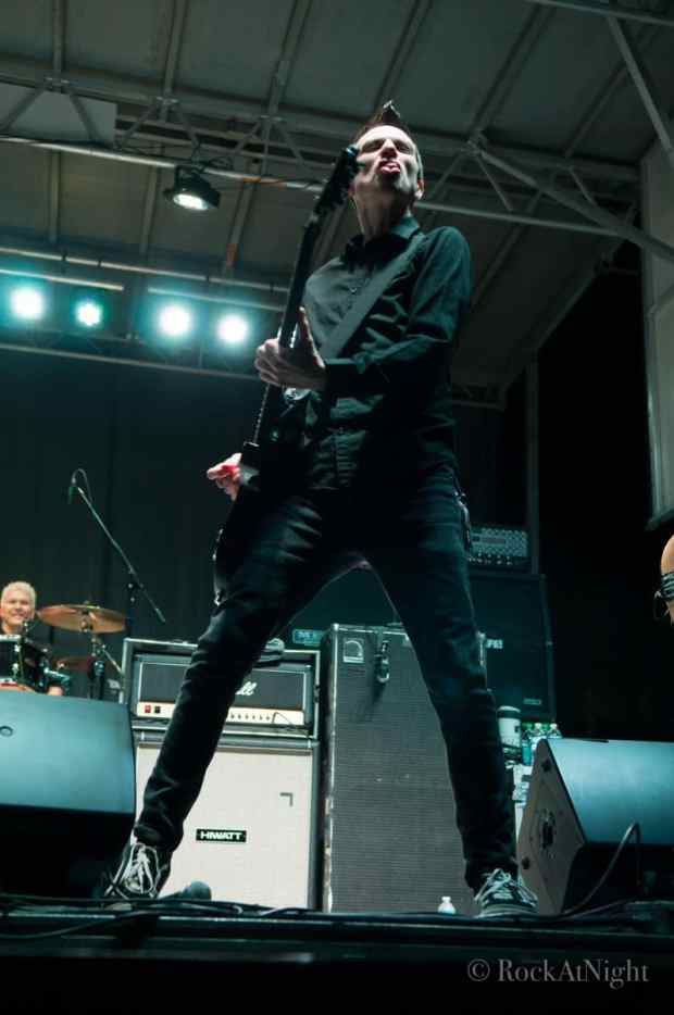 Justin Sane of Anti-Flag