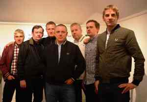 FRED PERRY BAND SHOT