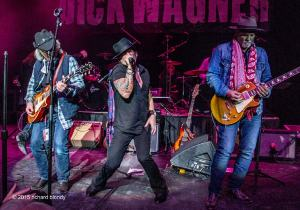 Brad Whitford, Robert Wagner, Derek St. Holmes Memorial-Photo: Richard Blondy