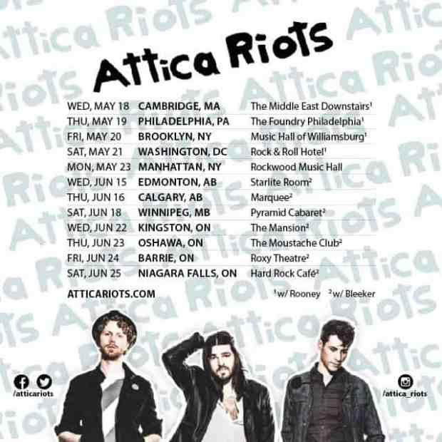 Attica Riots Tour Poster
