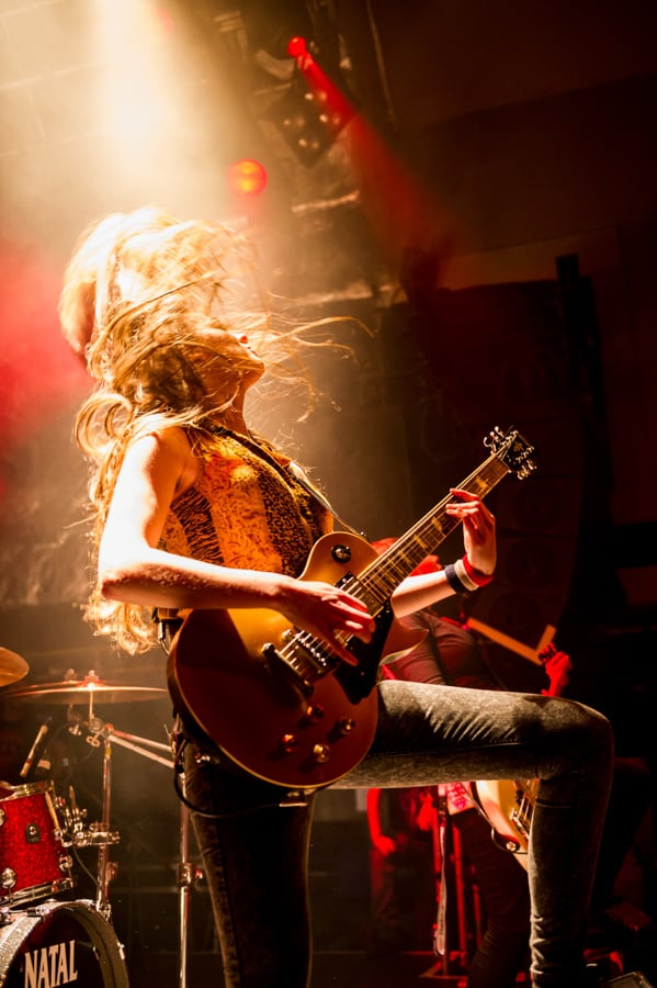 The Amorettes – TX63 Music Photography-004