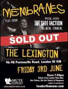 Poster-Membranes at The Lexington
