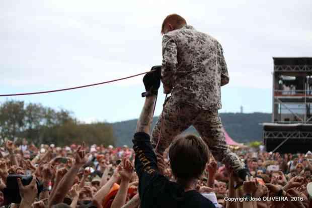 Frank Carter & the Rattlesnakes - THE EUROCKEENNES Festival