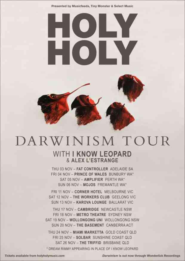 holyholydarwinismnationaltour