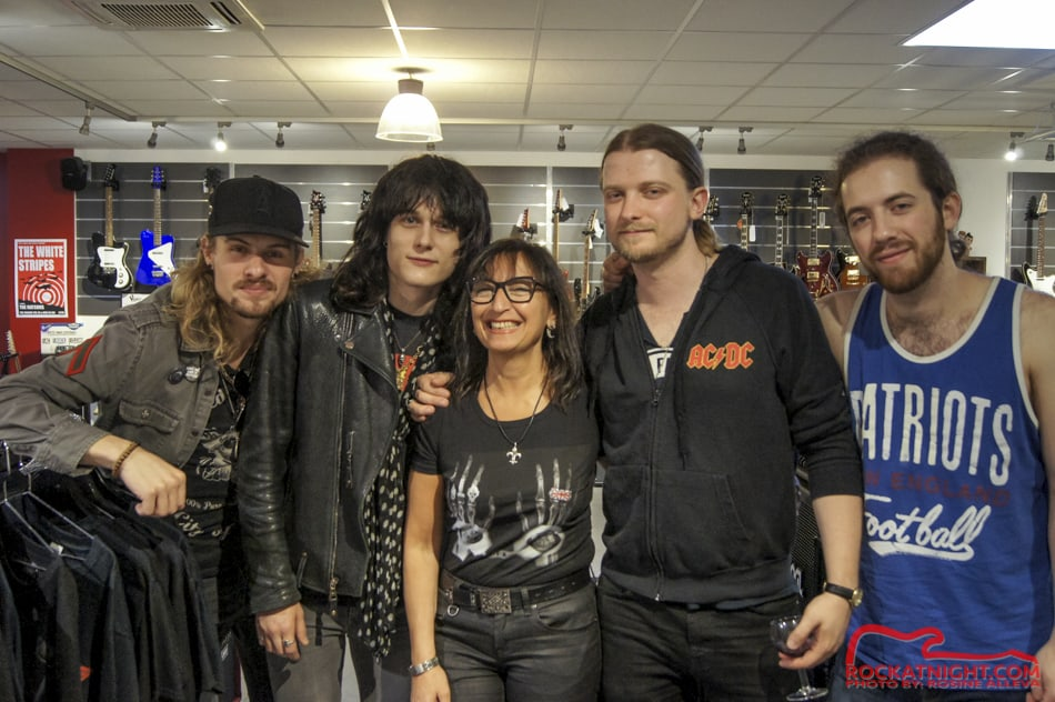 Tyler Bryant and the Shakedown with Rosine Alleva
