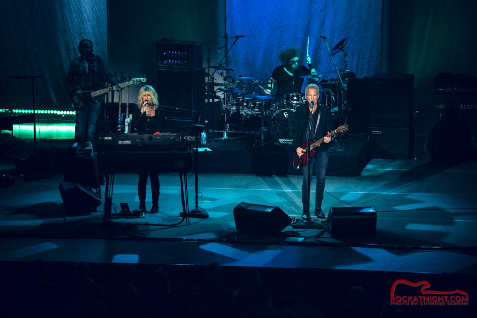 Lindsey Buckingham and Christie McVie