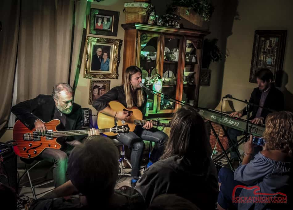 Keith Harkin, Vezzio Bacci, and Peter Sheridan