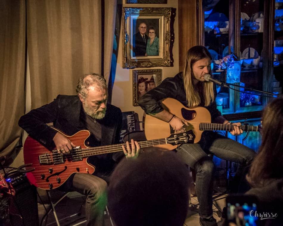 Keith Harkin and Vezzio Bacci
