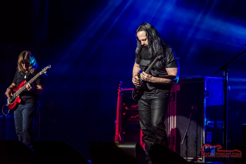 John Petrucci and Dave LaRue