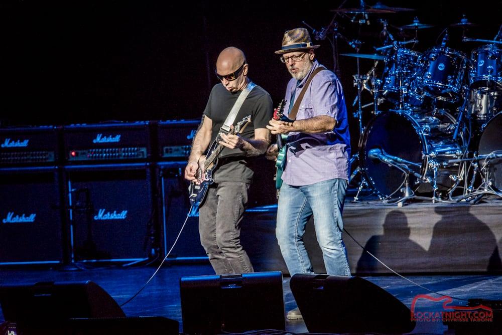Joe Satriani and Mike Keneally