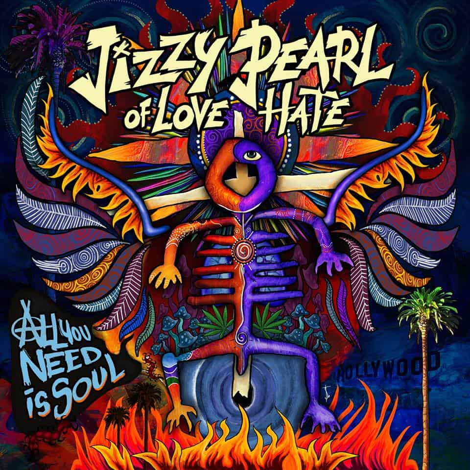 Jizzy Pearl of Love Hate cover