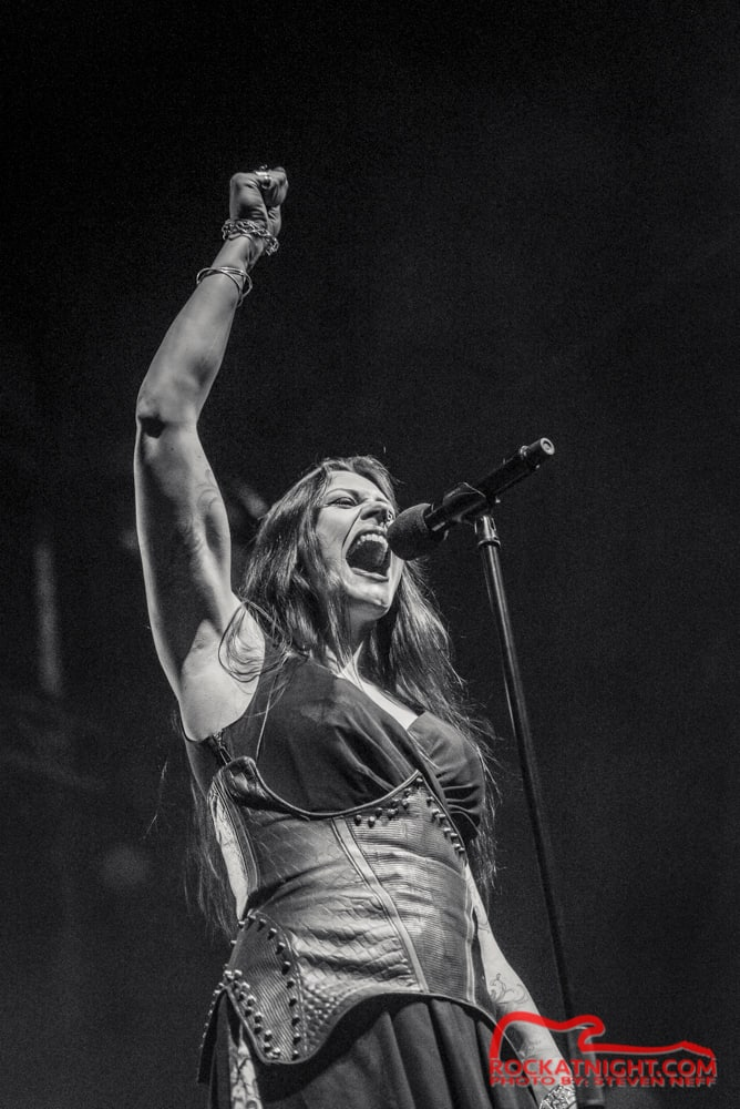 Floor Jansen of Nightwish