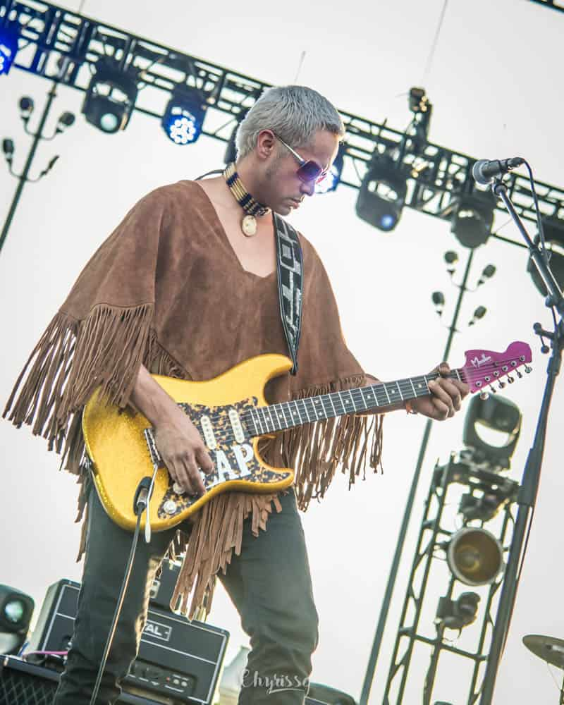 King Zapata of the Gary Clark Jr. Band