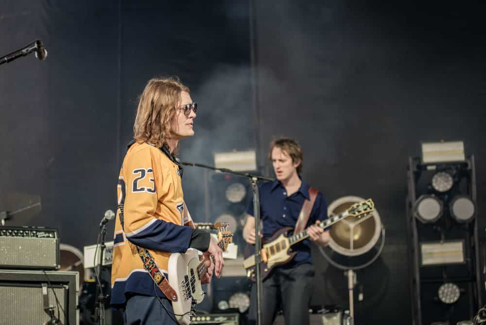 Daniel Tichenor and Nick Bothrath of Cage the Elephant