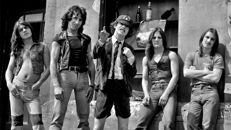 Angus young still gets Stage fright.