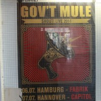 Gov`t Mule im Capitol/Hannover am 07.07.2014