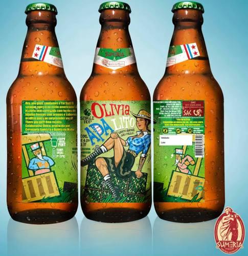 APAlito (Estilo: American Pale Ale / ABV: 4,8% / Cervejaria: Suméria / País: Brasil)