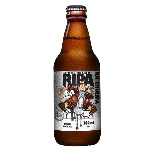 Ripa Na Chulipa (Estilo: IPA / ABV: 7% / Cervejaria: Saint Bier / País: Brasil)
