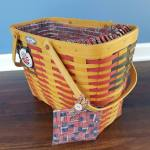 25th anniversary Longaberger basket with liner