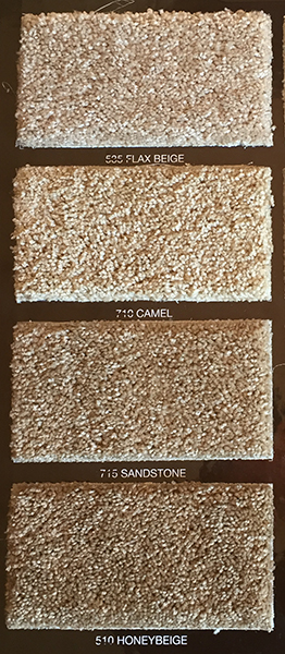 Flax Beige * Camel * Sandstone * Honey Beige