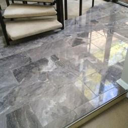 """Silver Fantasy"" Polished Turkish Marble. Rockbridge Flooring Professionals, LLC"
