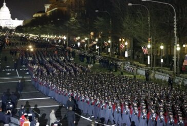 For second time, VMI cadets march in Obama inaugural parade