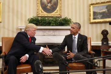 President Obama and President-elect Trump meet for first time