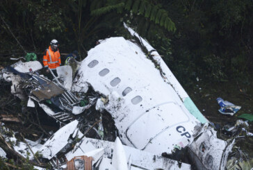 Plane carrying Brazilian soccer team crashes in Colombia, 75 dead