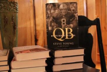 SVU professor co-authors an NFL quarterback's memoir