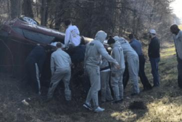 I-95 crash temporarily sidelines Georgetown team
